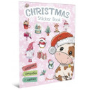 Christmas Sticker Book. Щедрівочка