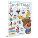 Christmas Sticker Book. Колядки
