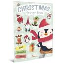 Christmas Sticker Book. Ялинка