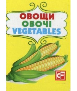 Книжка-картонка Овощи