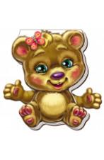 Кумеднi лапки: Ведмедик