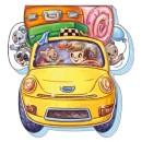 На дорозі: Лихое такси