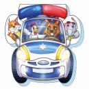 На дорозі: Полицейская машина
