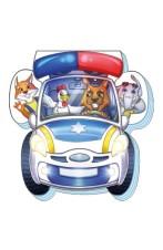 На дорозі: Поліцейська машина
