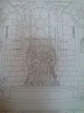 игра престолов раскраска
